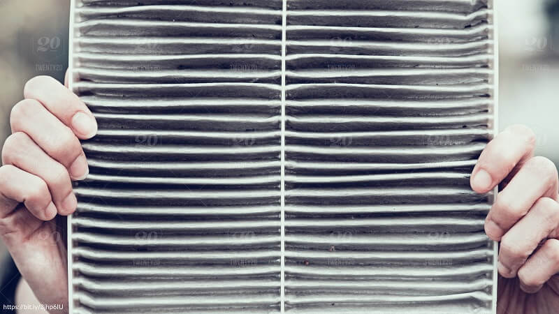 Dirty air filters can hurt a hume's heating and cooling system.